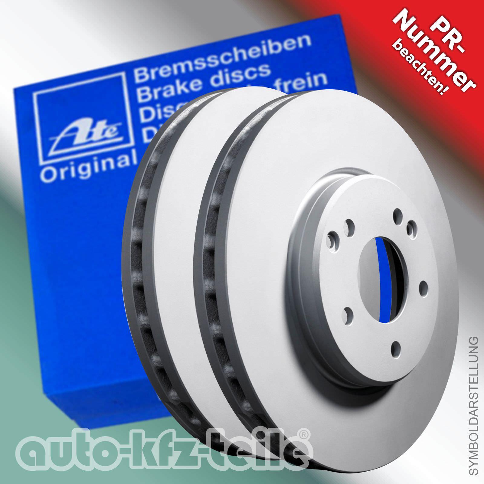 Beläge ATE Bremsscheiben 280mm belüftet Warnkontakt VORNE AUDI VW SEAT