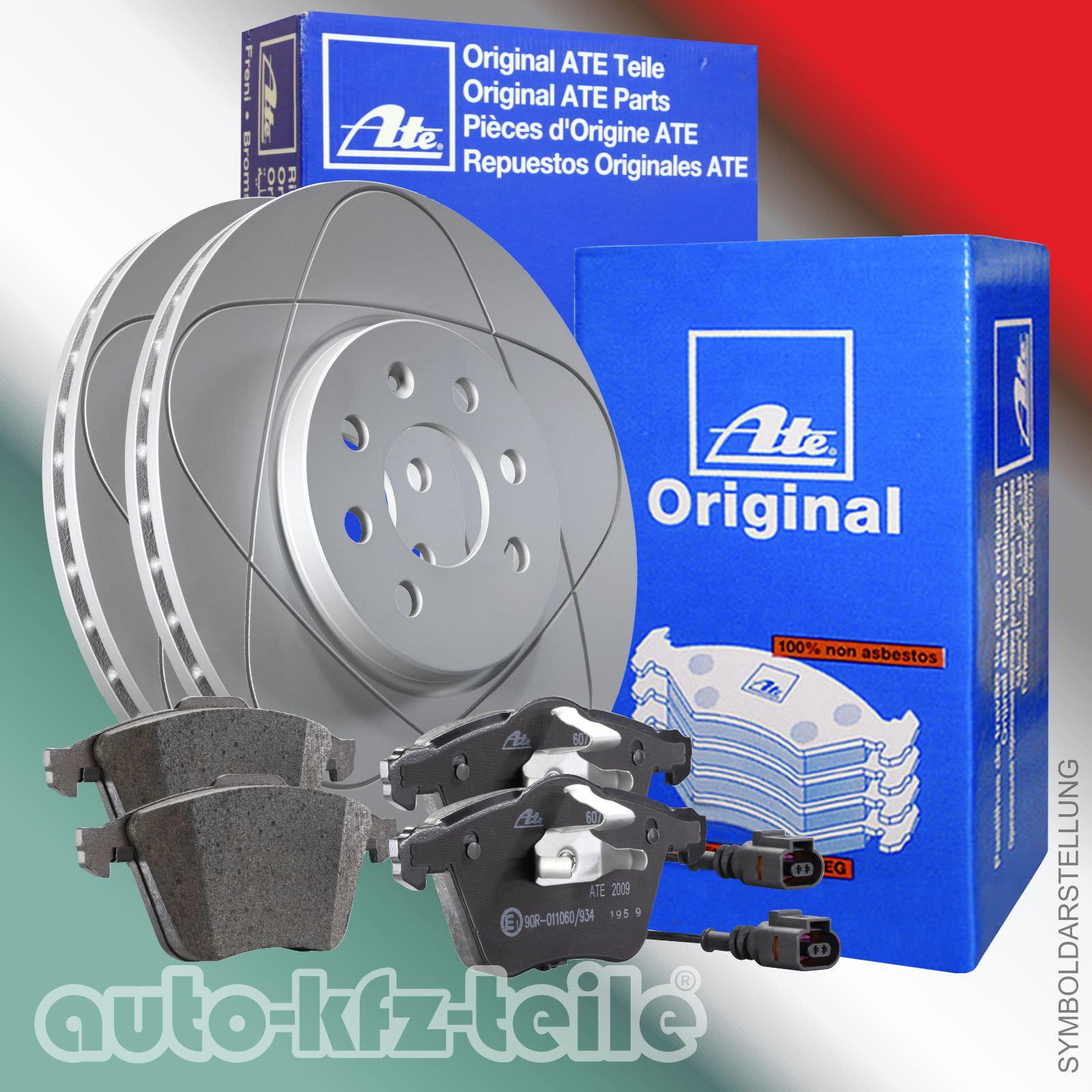 Bremsbeläge mit Warnkontakt  Opel Astra H  Satz für  vorne